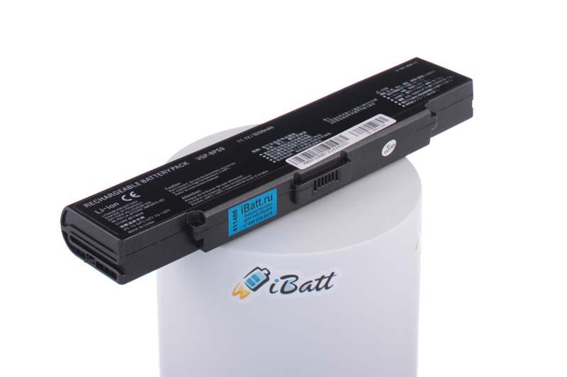 Аккумуляторная батарея для ноутбука Sony VAIO VGN-NR475. Артикул iB-A575H