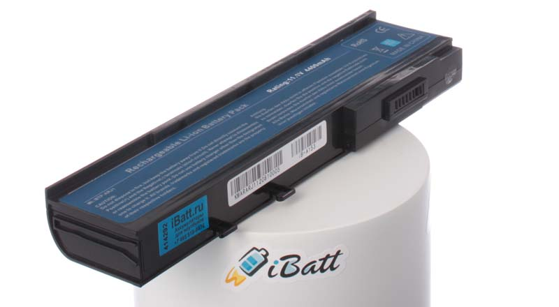 Аккумуляторная батарея для ноутбука Acer TravelMate 6292-602G25MN. Артикул iB-A153.Емкость (mAh): 4400. Напряжение (V): 11,1