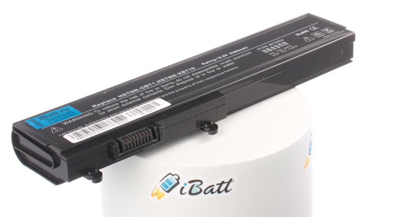 Аккумуляторная батарея HSTNN-XB70 для ноутбуков HP-Compaq. Артикул iB-A311.Емкость (mAh): 4400. Напряжение (V): 11,1