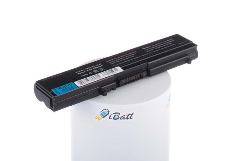 Аккумуляторная батарея PABAS043 для ноутбуков Toshiba. Артикул iB-A437H.Емкость (mAh): 5200. Напряжение (V): 11,1