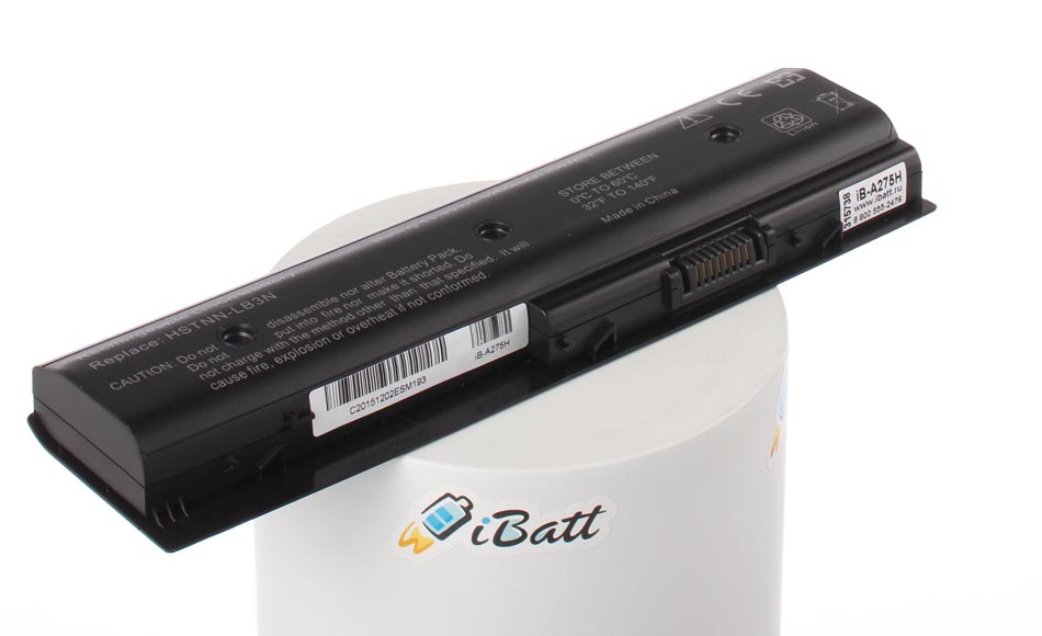 Аккумуляторная батарея HSTNN-DB3P для ноутбуков HP-Compaq. Артикул iB-A275H.Емкость (mAh): 5200. Напряжение (V): 11,1