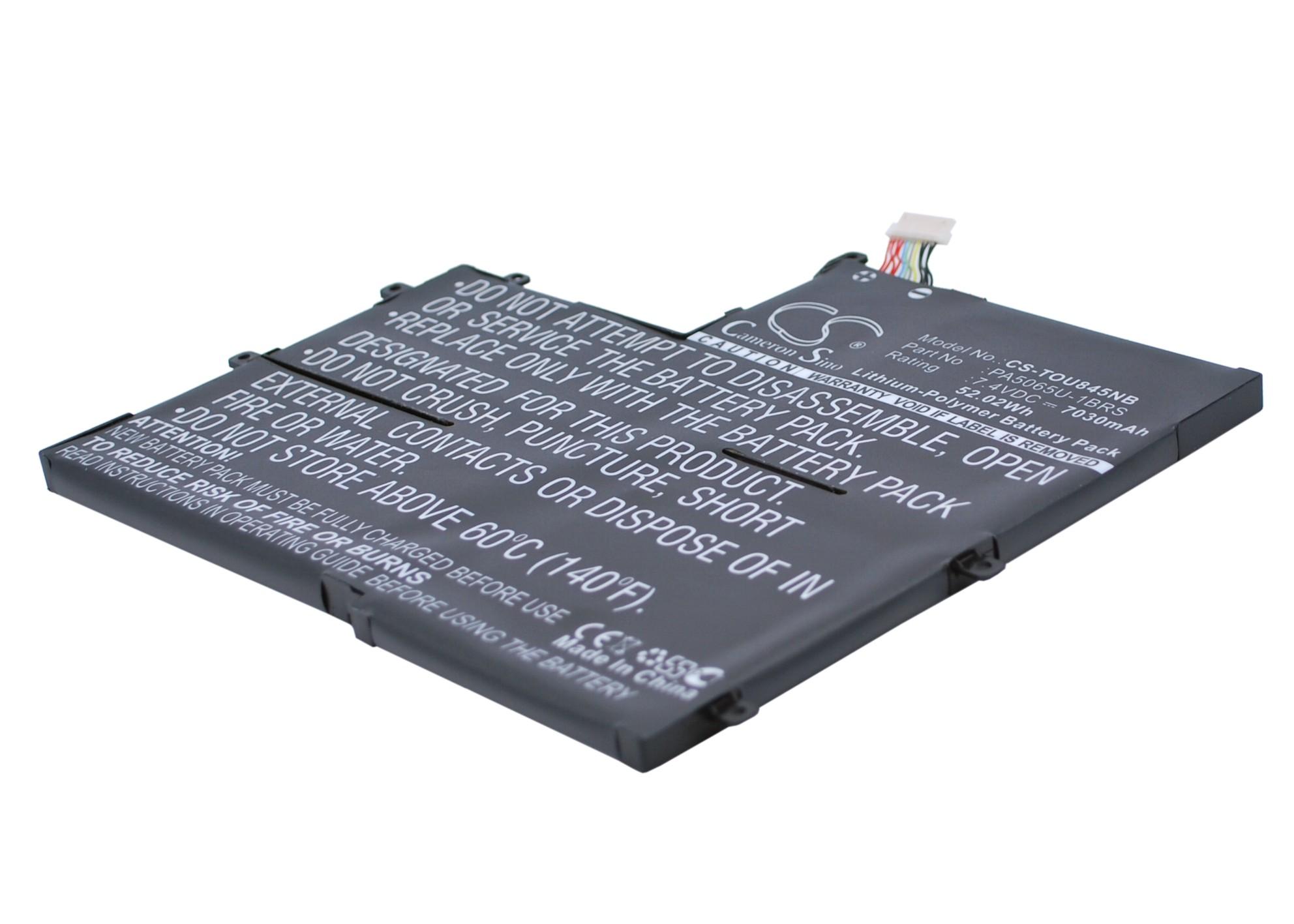 Аккумуляторная батарея iBatt iB-A1372 для ноутбука ToshibaЕмкость (mAh): 7030. Напряжение (V): 7,4