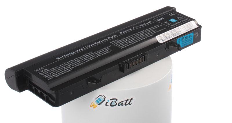 Аккумуляторная батарея XR682 для ноутбуков Dell. Артикул iB-A251.Емкость (mAh): 6600. Напряжение (V): 11,1
