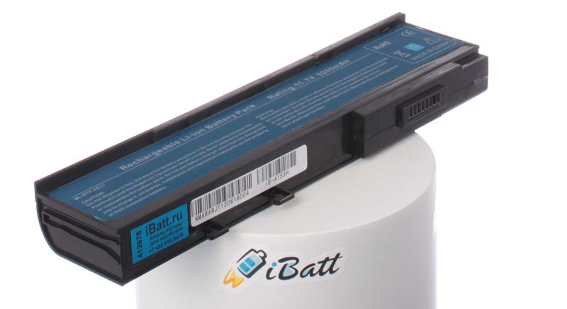 Аккумуляторная батарея для ноутбука Acer TravelMate 2424WXC. Артикул iB-A153H.Емкость (mAh): 5200. Напряжение (V): 11,1