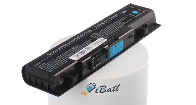 Аккумуляторная батарея для ноутбука Dell Studio 1535. Артикул iB-A206H.Емкость (mAh): 5200. Напряжение (V): 11,1