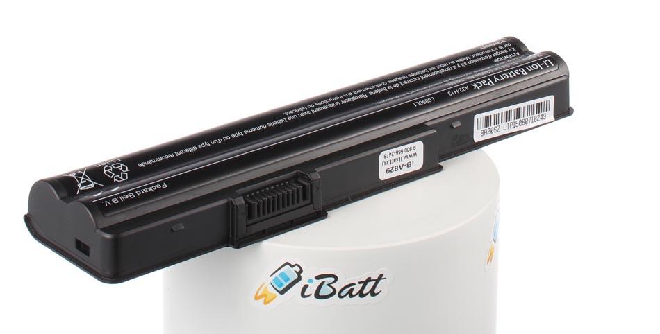 Аккумуляторная батарея iBatt iB-A829 для ноутбука GatewayЕмкость (mAh): 4400. Напряжение (V): 11,1