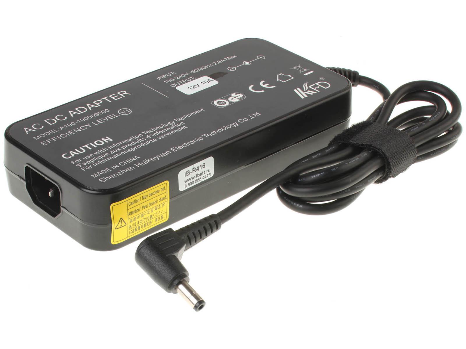 Блок питания (адаптер питания) JY071260U для ноутбука LG. Артикул iB-R416. Напряжение (V): 12