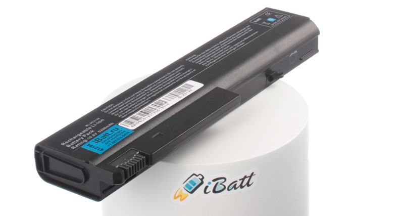 Аккумуляторная батарея для ноутбука HP-Compaq nx6110. Артикул iB-A312H.Емкость (mAh): 5200. Напряжение (V): 10,8