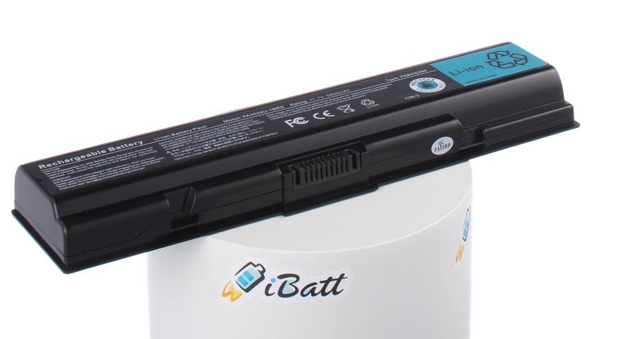 Аккумуляторная батарея PA3727U-1BAS для ноутбуков Toshiba. Артикул iB-A455X.Емкость (mAh): 6800. Напряжение (V): 10,8