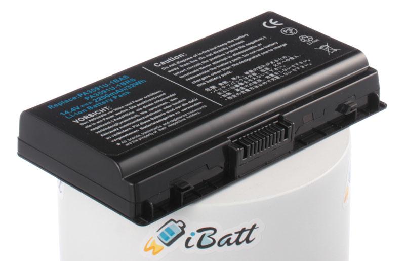 Аккумуляторная батарея iBatt iB-A403 для ноутбука ToshibaЕмкость (mAh): 2200. Напряжение (V): 14,4