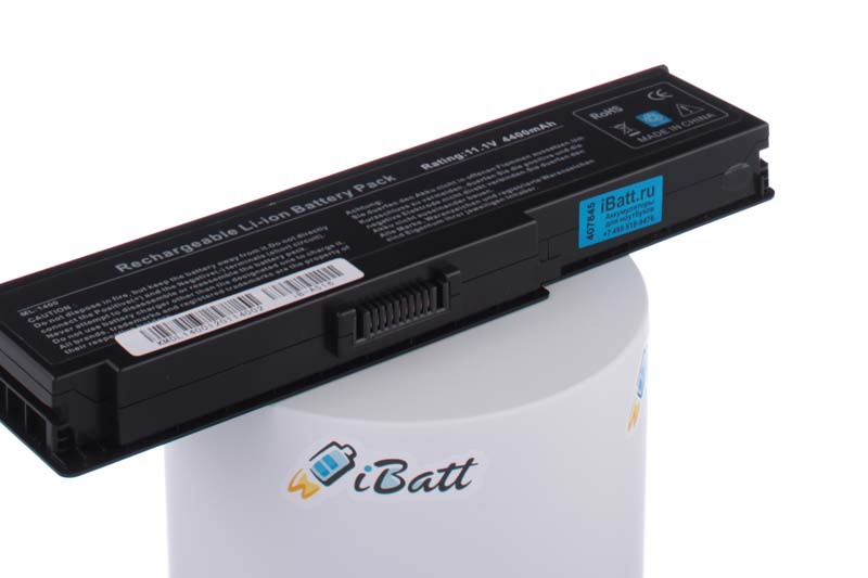 Аккумуляторная батарея для ноутбука Dell Vostro 1420. Артикул iB-A516.Емкость (mAh): 4400. Напряжение (V): 11,1