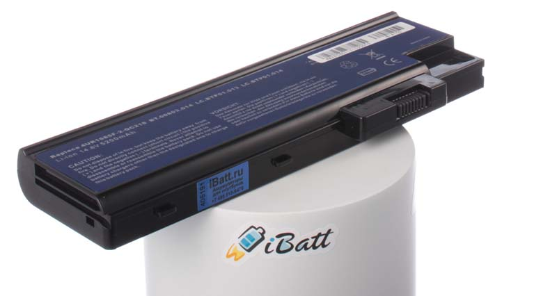 Аккумуляторная батарея для ноутбука Acer Aspire 7001WLMi. Артикул iB-A155.Емкость (mAh): 4400. Напряжение (V): 14,8