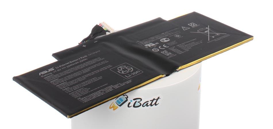 Аккумуляторная батарея для ноутбука Asus EeePAD Transformer Prime TF201 + Doc Gold. Артикул iB-A691.Емкость (mAh): 2900. Напряжение (V): 7,4