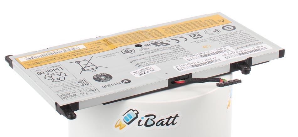 Аккумуляторная батарея iBatt iB-A794 для ноутбука IBM-LenovoЕмкость (mAh): 3700. Напряжение (V): 7,4
