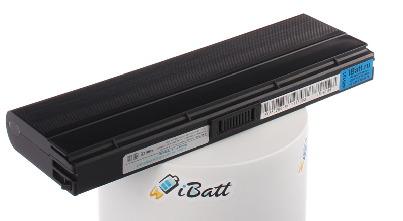 Аккумуляторная батарея для ноутбука Asus N20A-2P008E. Артикул iB-A149.Емкость (mAh): 6600. Напряжение (V): 11,1