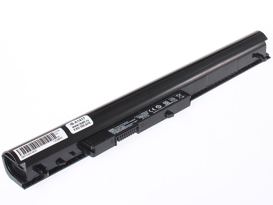 Аккумуляторная батарея для ноутбука HP-Compaq 15-d069wm. Артикул iB-A1417.Емкость (mAh): 2200. Напряжение (V): 14,4