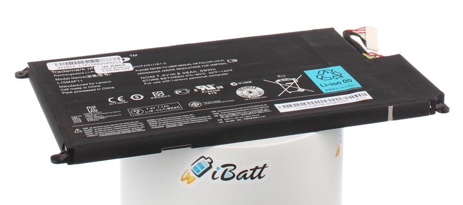 Аккумуляторная батарея CS-LVU410NB для ноутбуков IBM-Lenovo. Артикул iB-A804.Емкость (mAh): 8000. Напряжение (V): 7,4