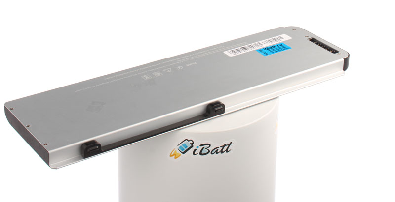 Аккумуляторная батарея A1281 для ноутбуков Apple. Артикул iB-A464.Емкость (mAh): 5200. Напряжение (V): 10,8
