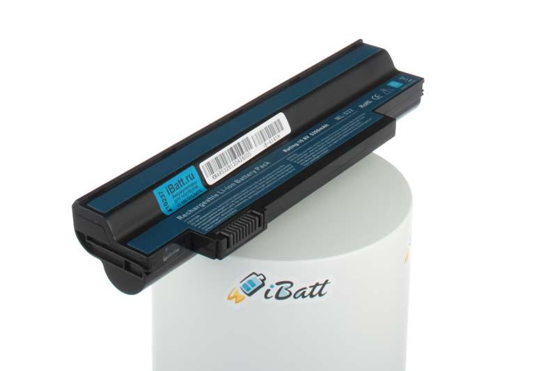 Аккумуляторная батарея UM09H56 для ноутбуков Acer. Артикул iB-A141H.Емкость (mAh): 5200. Напряжение (V): 10,8