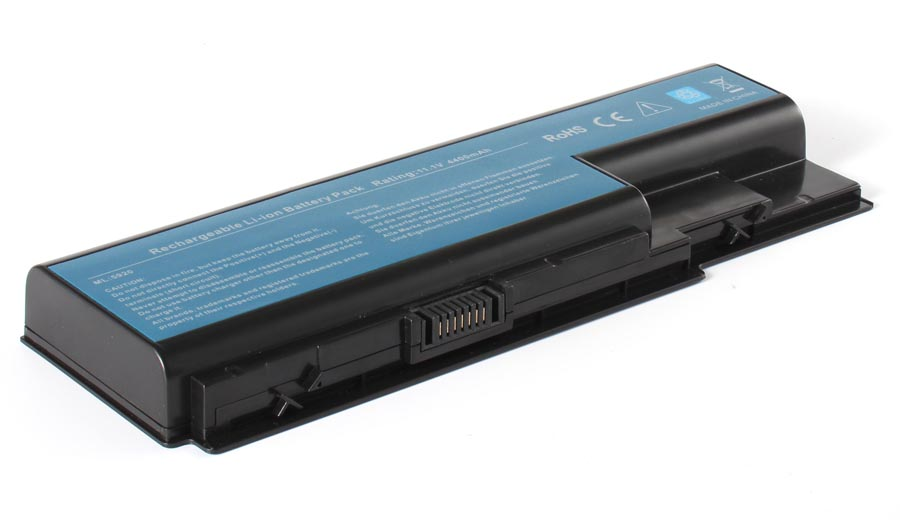 Аккумуляторная батарея AS07B51 для ноутбуков Packard Bell. Артикул 11-1140.Емкость (mAh): 4400. Напряжение (V): 11,1