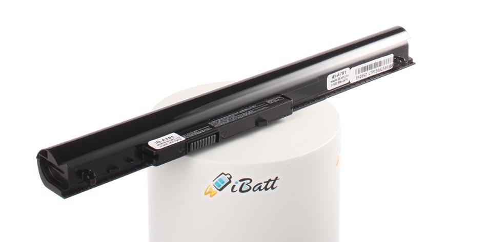 Аккумуляторная батарея iBatt iB-A781 для ноутбука HP-CompaqЕмкость (mAh): 2200. Напряжение (V): 14,8