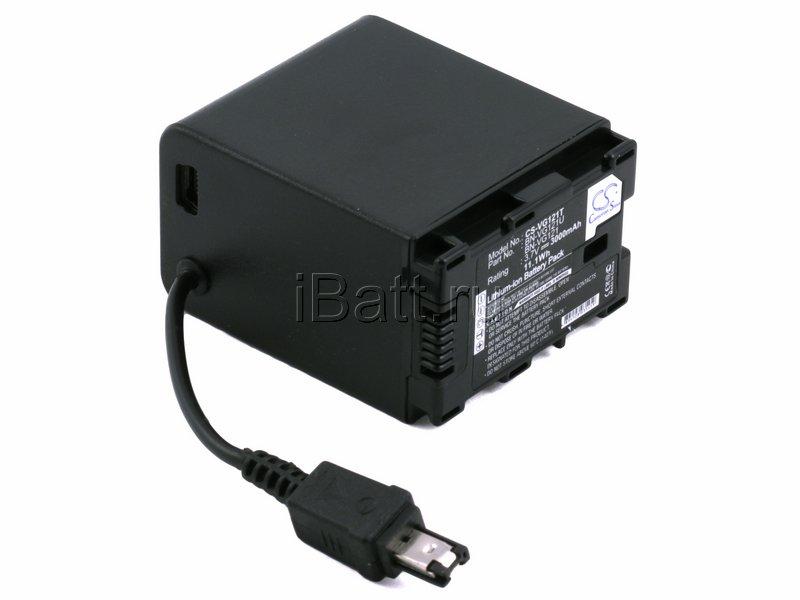 Аккумуляторная батарея iBatt для фотокамеры JVC GZ-HM550. Артикул iB-F383, JVC