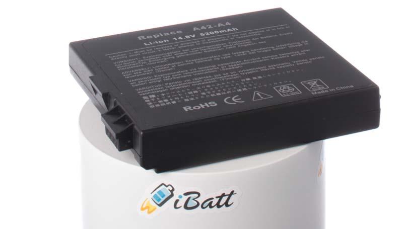Аккумуляторная батарея для ноутбука Asus A4000. Артикул iB-A175.Емкость (mAh): 4400. Напряжение (V): 14,8