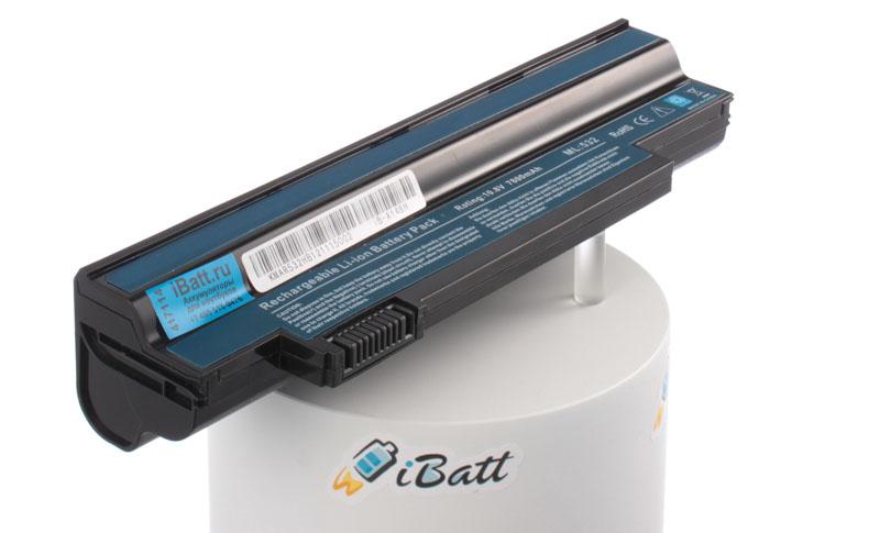 Аккумуляторная батарея UM09G31 для ноутбуков Gateway. Артикул iB-A148H.Емкость (mAh): 7800. Напряжение (V): 10,8