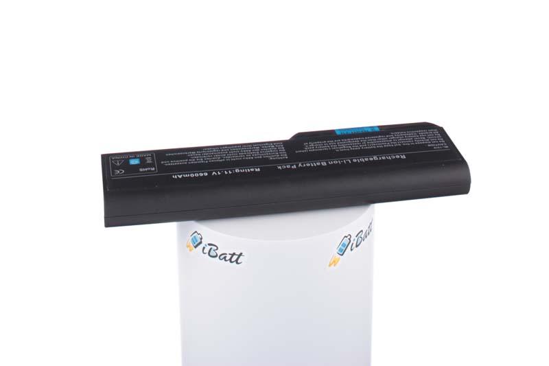 Аккумуляторная батарея iBatt iB-A505 для ноутбука DellЕмкость (mAh): 6600. Напряжение (V): 11,1