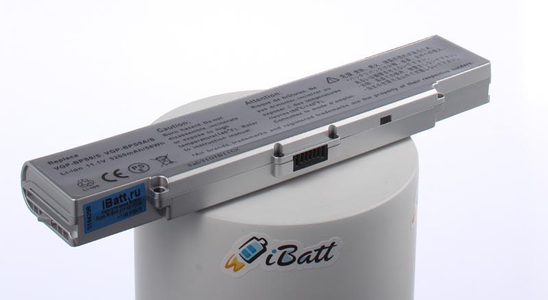 Аккумуляторная батарея iBatt iB-A599H для ноутбука SonyЕмкость (mAh): 5200. Напряжение (V): 11,1
