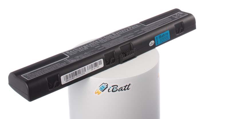 Аккумуляторная батарея 110-AS009-10-0 для ноутбуков Asus. Артикул iB-A179H.Емкость (mAh): 5200. Напряжение (V): 14,8