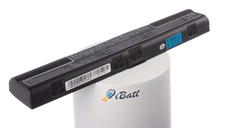 Аккумуляторная батарея для ноутбука Asus L3TP. Артикул iB-A179H.Емкость (mAh): 5200. Напряжение (V): 14,8
