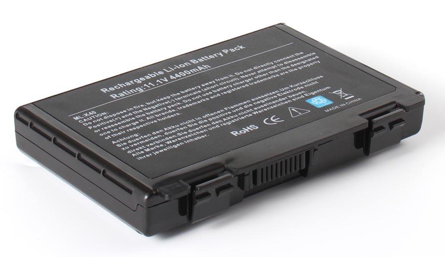 Аккумуляторная батарея для ноутбука Asus K51. Артикул 11-1145.Емкость (mAh): 4400. Напряжение (V): 11,1