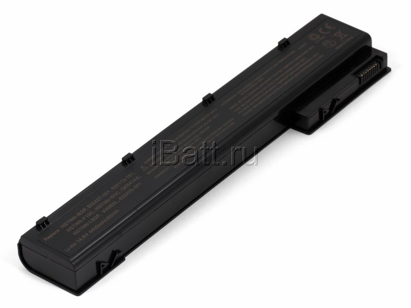 Аккумуляторная батарея QK641AA для ноутбуков HP-Compaq. Артикул 11-1612.Емкость (mAh): 4400. Напряжение (V): 14,8