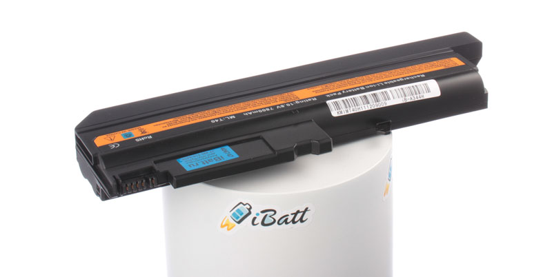 Аккумуляторная батарея iBatt iB-A344H для ноутбука IBM-LenovoЕмкость (mAh): 7800. Напряжение (V): 10,8