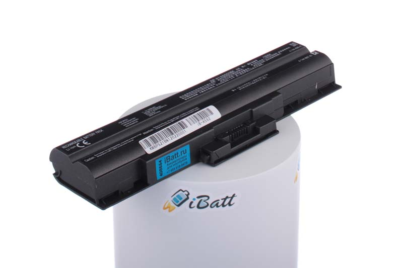 Аккумуляторная батарея CLD5123S.806 для ноутбуков Sony. Артикул iB-A592.Емкость (mAh): 4400. Напряжение (V): 11,1