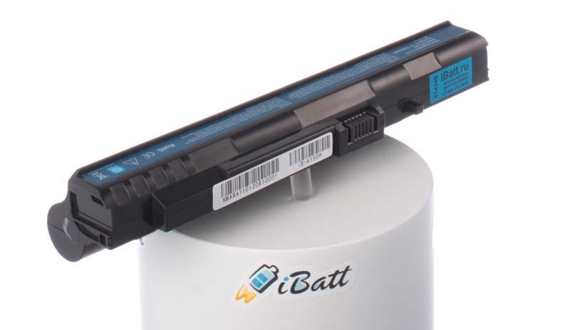Аккумуляторная батарея UM08B31 для ноутбуков Acer. Артикул iB-A150H.Емкость (mAh): 5200. Напряжение (V): 11,1