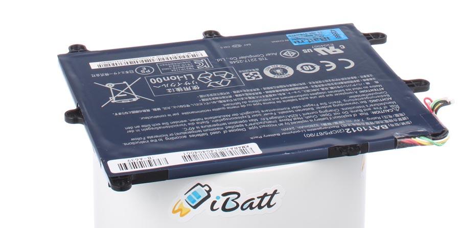 Аккумуляторная батарея для ноутбука Acer Iconia Tab A211. Артикул iB-A639.Емкость (mAh): 3250. Напряжение (V): 7,4