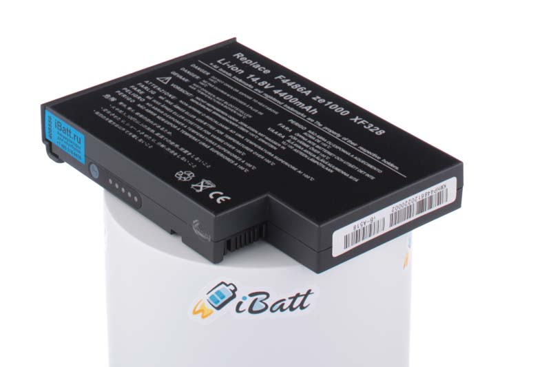 Аккумуляторная батарея 4UR18650F-2-QC-EG4L для ноутбуков HP-Compaq. Артикул iB-A518.Емкость (mAh): 4400. Напряжение (V): 14,8