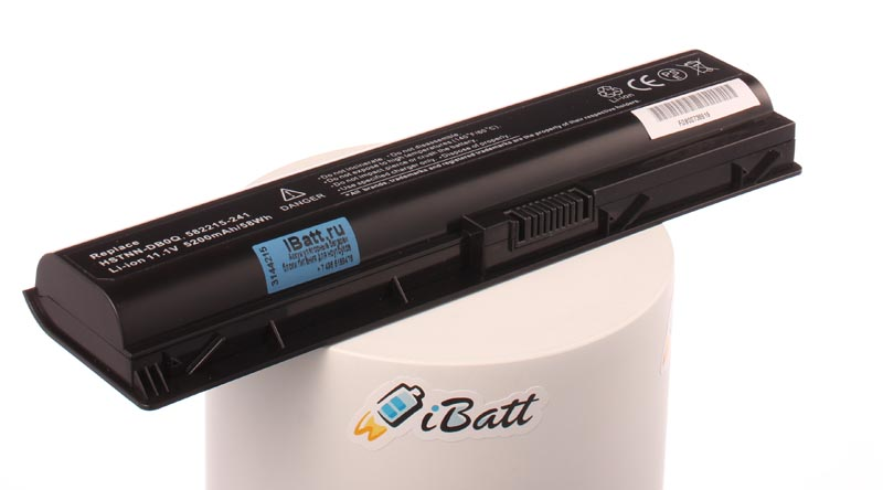 Аккумуляторная батарея для ноутбука HP-Compaq TouchSmart tm2-1010ea. Артикул iB-A274H.Емкость (mAh): 5200. Напряжение (V): 11,1