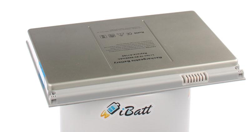 Аккумуляторная батарея MA458J/A для ноутбуков Apple. Артикул iB-A462.Емкость (mAh): 6600. Напряжение (V): 10,8