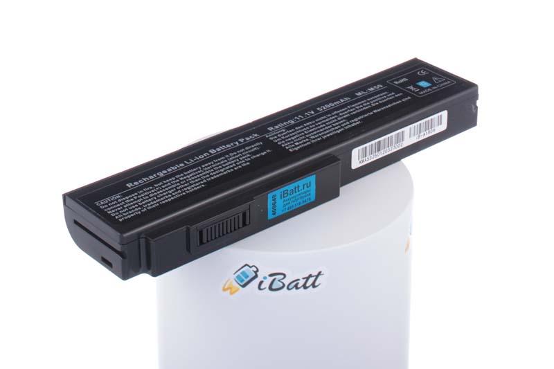Аккумуляторная батарея для ноутбука Asus N52A. Артикул iB-A160H.Емкость (mAh): 5200. Напряжение (V): 11,1