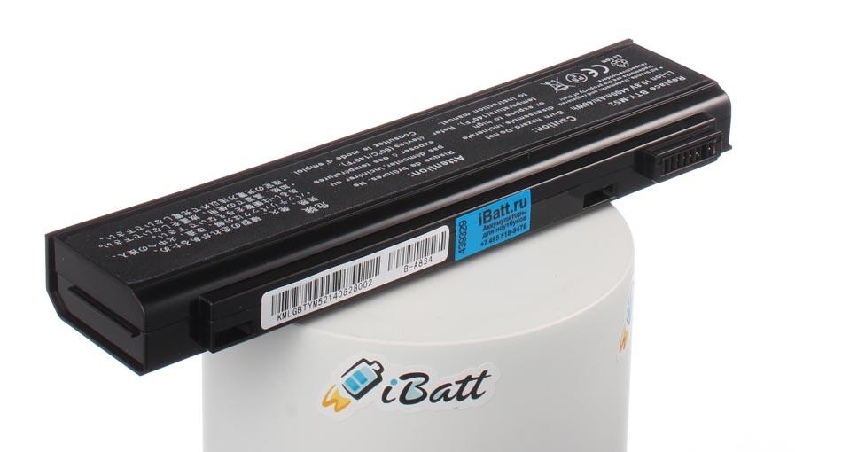 Аккумуляторная батарея для ноутбука MSI Entertainment EX620. Артикул iB-A834.Емкость (mAh): 4400. Напряжение (V): 10,8