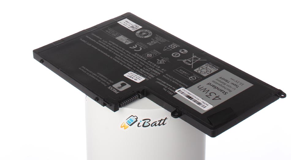 Аккумуляторная батарея 0PD19 для ноутбуков Dell. Артикул iB-A927.Емкость (mAh): 3800. Напряжение (V): 11,1