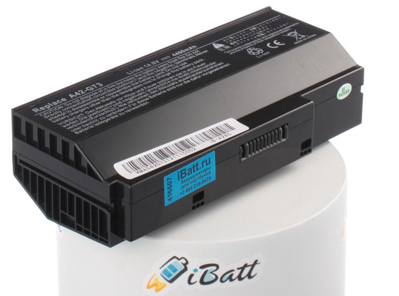 Аккумуляторная батарея для ноутбука Asus VX7SX Lamborghini. Артикул iB-A285.Емкость (mAh): 4400. Напряжение (V): 14,8