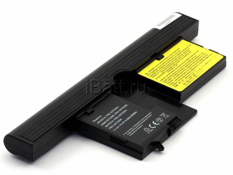 Аккумуляторная батарея iBatt 11-1362 для ноутбука IBM-LenovoЕмкость (mAh): 4400. Напряжение (V): 14,4