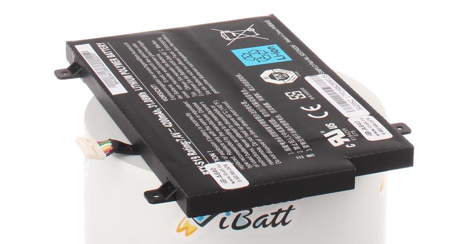 Аккумуляторная батарея для ноутбука MSI WindPad 110W. Артикул iB-A840.Емкость (mAh): 4200. Напряжение (V): 7,4