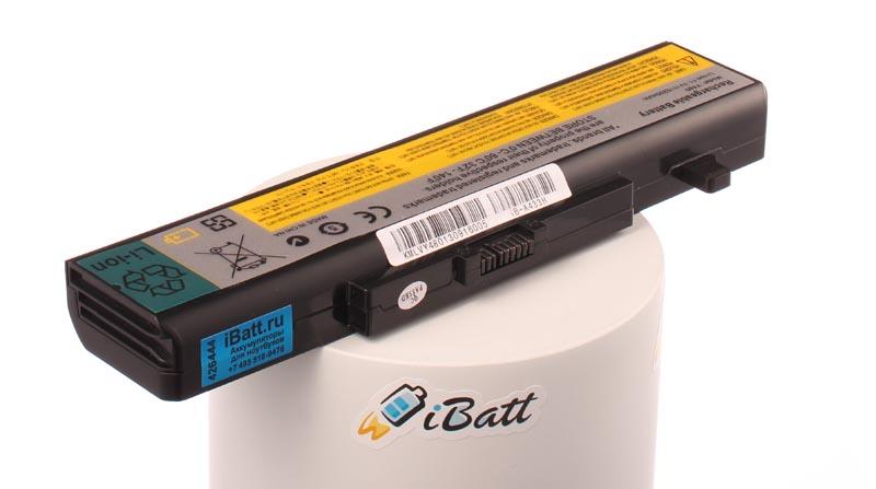 Аккумуляторная батарея iBatt iB-A433H для ноутбука IBM-LenovoЕмкость (mAh): 5200. Напряжение (V): 10,8
