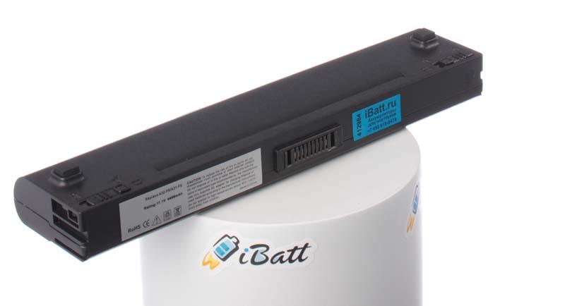 Аккумуляторная батарея для ноутбука Asus F6V-3P123C. Артикул iB-A178.Емкость (mAh): 4400. Напряжение (V): 11,1