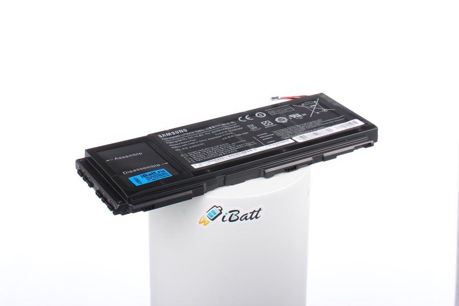 Аккумуляторная батарея iBatt iB-A627 для ноутбука SamsungЕмкость (mAh): 4400. Напряжение (V): 14,8